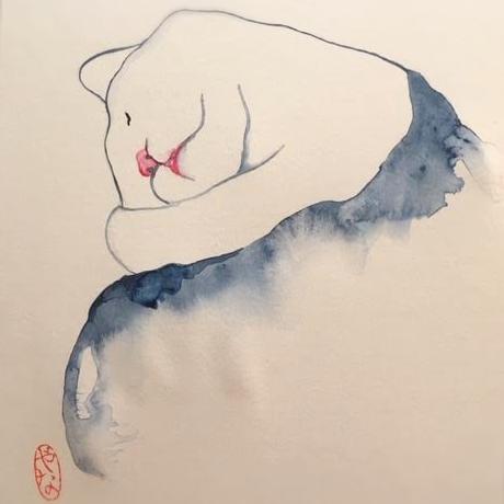 Jana - akvarel