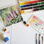 kurzy akvarelu