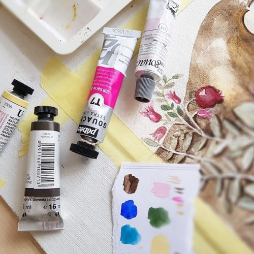 plakát Kreativ barvy