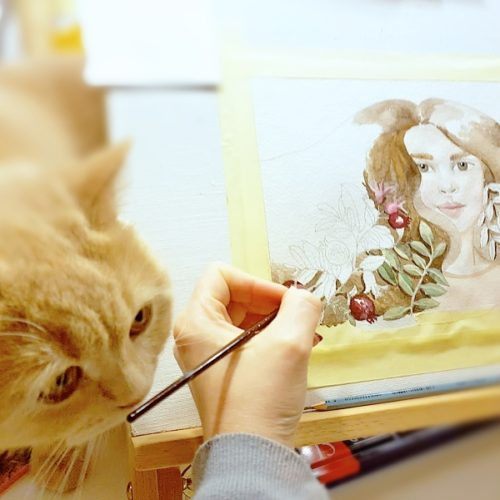 malba kvašem Kreativ