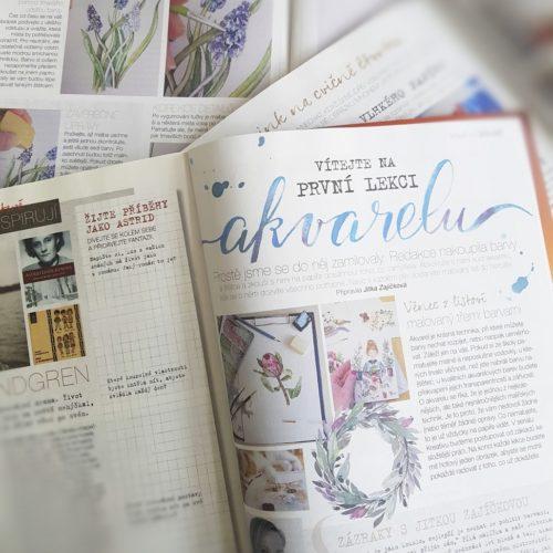 návod časopis Kreativ