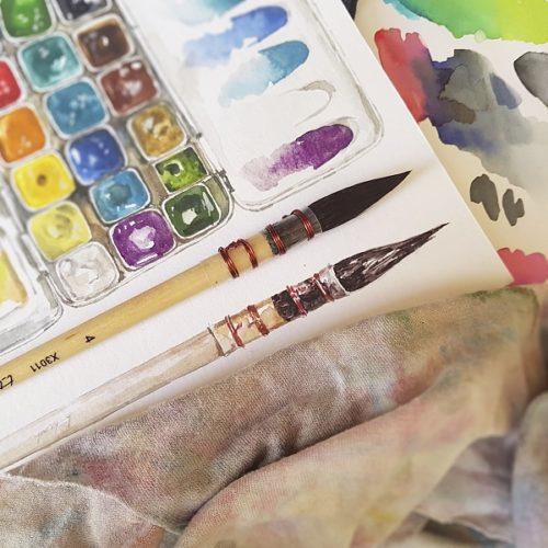 barvy online kurz
