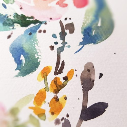 terciální barvy akvarel Daniel Smith