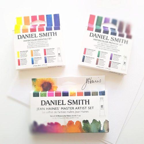Daniel Smith akvarel